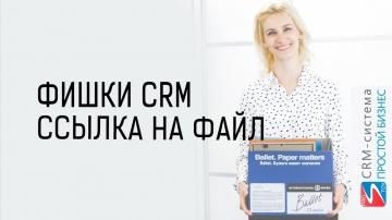 Простой бизнес: CRM-система «Простой бизнес». Как сделать ссылку на файл❓
