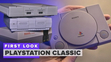 CNET: Sony PlayStation Classic first look: It's good, but not great