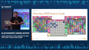 DATA MINER: Alexander Andelkovic - Using Artificial Intelligence to Test the Candy Crush Saga Game