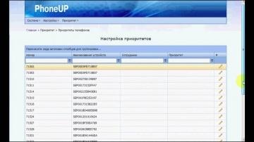 Сервис Aurus PhoneUP Приоритет - настройка и работа