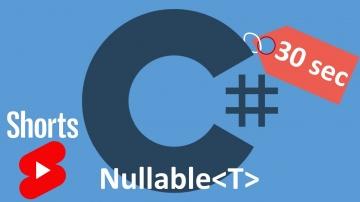 C#: C# Nullable типы за 30 секунд #Shorts - видео