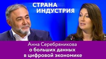 Анна Серебряникова – о больших данных в цифровой экономике
