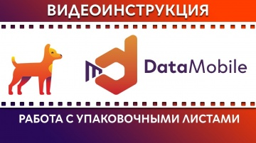 СКАНПОРТ: DataMobile: Урок № 28. Работа с упаковочными листами