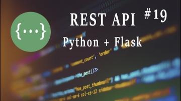 Python: REST API (Python): Админ-панель. Часть 1 модель данных - видео