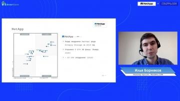 NetApp: Илья Борняков - NetApp технологии - видео