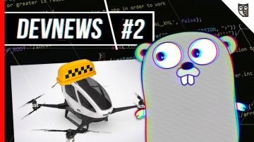 LoftBlog: Go 1.10, беспилотный дрон — такси, медицина будущего, конференции JBreak и Mobius - видео