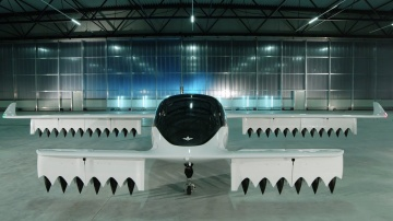The Lilium Jet five seater all-electric air taxi