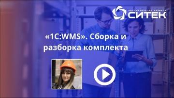 СИТЕК WMS: 1С:WMS. Сборка и разборка комплекта - видео