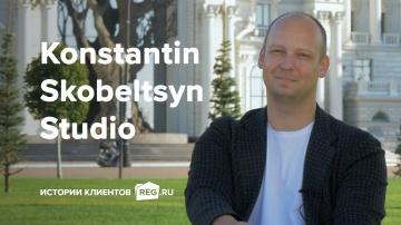 REG.RU: Истории клиентов REG.RU: Konstantin Skobeltsyn Studio - видео