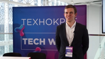 Технократ: Максим Тимошинин на Russian Tech Week