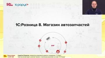 1С-Рарус: Практика автоматизации розничной торговли с отраслевыми решениями на основе 1С:Розница - в