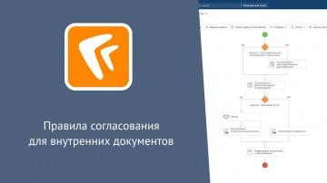 Directum: Directum RX. Правила согласования для внутренних документов (веб-клиент)