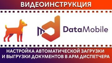 СКАНПОРТ: DataMobile: Урок № 30. Настройка автоматической загрузки и выгрузки документов в АРМ Диспе