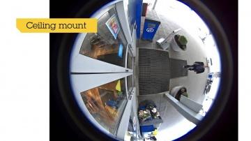 Layta: AXIS M3027-PVE - IP-камера видеонаблюдения купольная