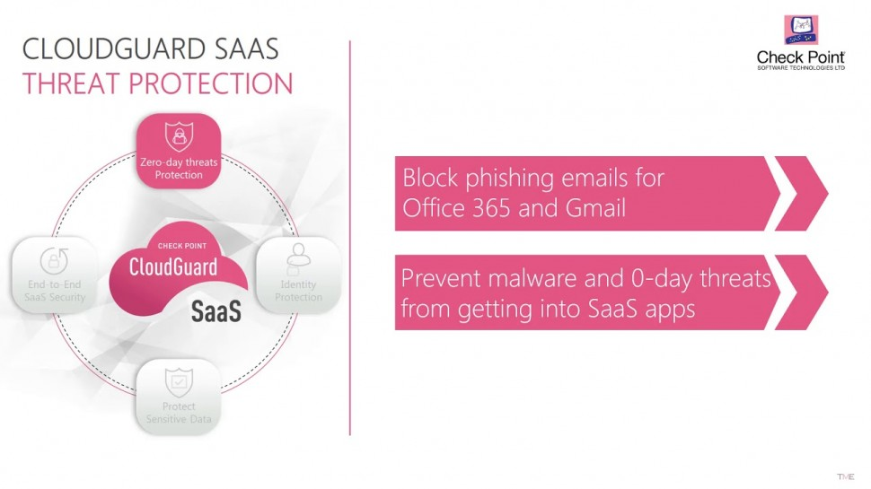 Check Point: Zero-day Threat Protection for SaaS Email | CloudGuard SaaS Demo